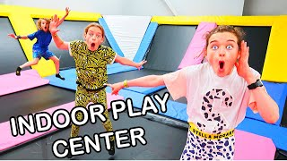 INDOOR PLAY CENTER Challenge By The Norris Nuts