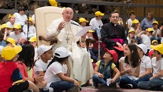 Pope Francis' important message for children HD