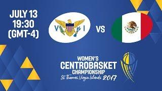 Virgin Islands vs Mexico - Full Game - Women's Centrobasket Championship 2017 thumbnail