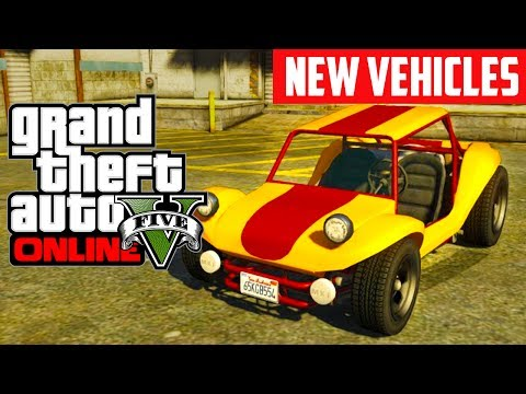 GTA 5 Online: ALL New Cars & Weapons - Beach Bum DLC (GTA V)