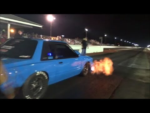 BoostedGT vs Texas Anarchy in a drag race!!! At Redemption 8.0