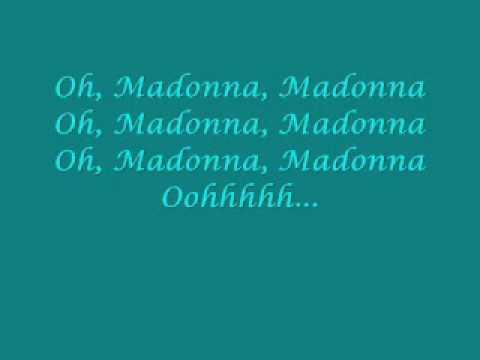 She's Madonna mit Lyrics