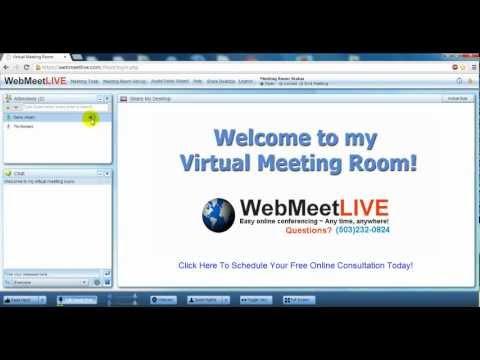 Web Meet Live ~ VoIP Audio Tutorial