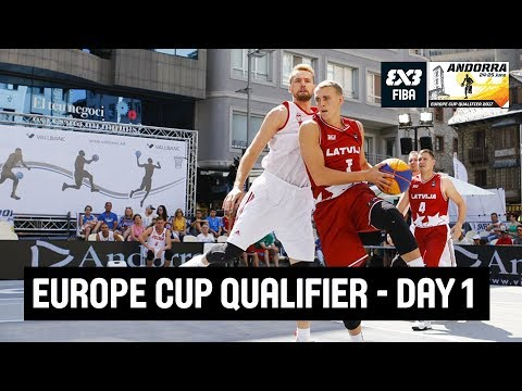 FIBA 3x3 Europe Cup Qualifier - Day 1 - LIVE - Escaldes-Engordany, Andorra