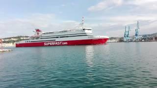 Ancona Superfast uscita dal porto. Lanterna rossa(Iscriviti al mio canale: https://www.youtube.com/user/chicomen... Guarda il mio nuovo Blog: http://icaroinvolo.altervista.org/ Pagina Facebook: ..., 2016-06-06T13:12:14.000Z)