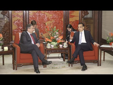 Chinese premier and German vice-chancellor stress value of bilateral ties