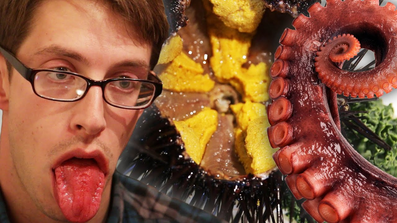 Extreme Asian Food Challenge • Try Guys Feast Mode