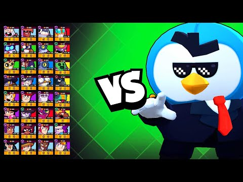 Mr.P 1v1 Against EVERY Brawler | Cut His DPS In Half With This Trick