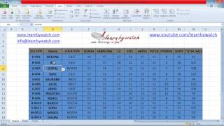 How to use Advanced Filter in Excel by Saurabh Kumar (Hindi / Urdu)