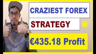 My CRAZIEST FENCING Strategy for Forex/ CFD DAY Trading (€435 Profit LIVE)🌟🌟🌟🌟🌟