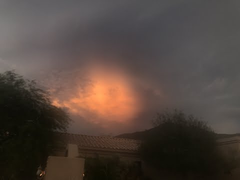 NIBIRU IN THE NORTH -  PHOENIX, AZ HUGE RED OBJECT!!( BEFORE THE LIVE STREAM)
