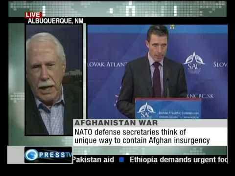 Press TV's Sheena Shirani talks to fmr. US senator Mike Gravel on Afghanistan War