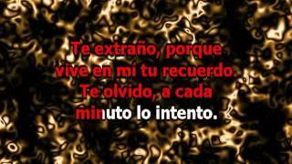 Ricky Martin - Te Extraño te Olvido te Amo (karaoke)