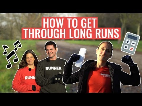 How To Get Through Long Runs Using MIND GAMES (and Maths)