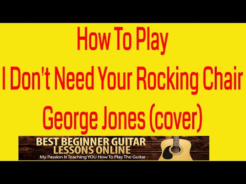 George Jones Songs - How To Play On Guitar - Adult Guitar Lessons