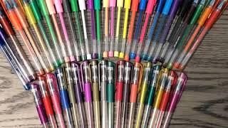 ColorIt 48 Gel Pens Set Overview