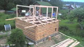 Сруб баня(Построить баню за три дня., 2013-01-27T18:25:24.000Z)