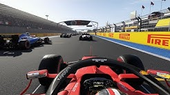 F1 2019 Gameplay France - Last to First Challenge