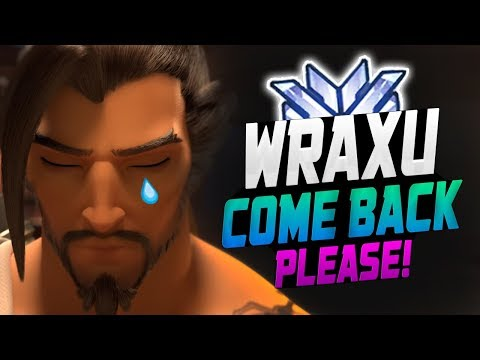 Wraxu - World Rank #1 Hanzo! He's INSANE! [ OVERWATCH SEASON 12 TOP 500 ] thumbnail