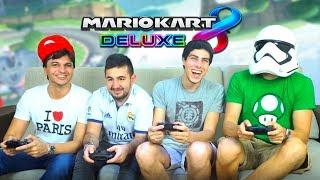 ¡EL MEJOR DUELO POR PAREJAS DE MARIO KART 8 DELUXE! | Nintendo Switch