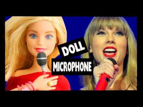 How to Make a Doll Microphone - Super Easy Doll Crafts - simplekidscrafts - simplekidscrafts