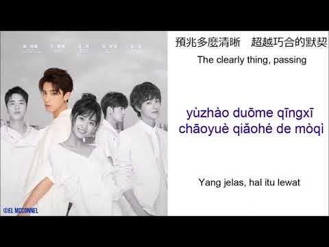 [CHN | PINYIN | ENG | INDO LYRICS] F4 - NEVER WOULD'VE THOUGHT OF(METEOR GARDEN 2018 OST)