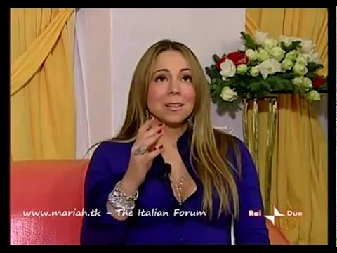 "Mariah Carey ""Auld Lang Syne"" (Acapella Snippet ""Italy TV"" 2009) HD"