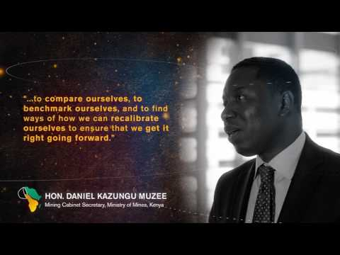 Mining Indaba 2017: Hon. Daniel Kazungu Muzee, Kenya