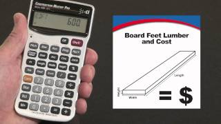 How to Calculate Board Feet Lumber and Costs | Construction Master Pro