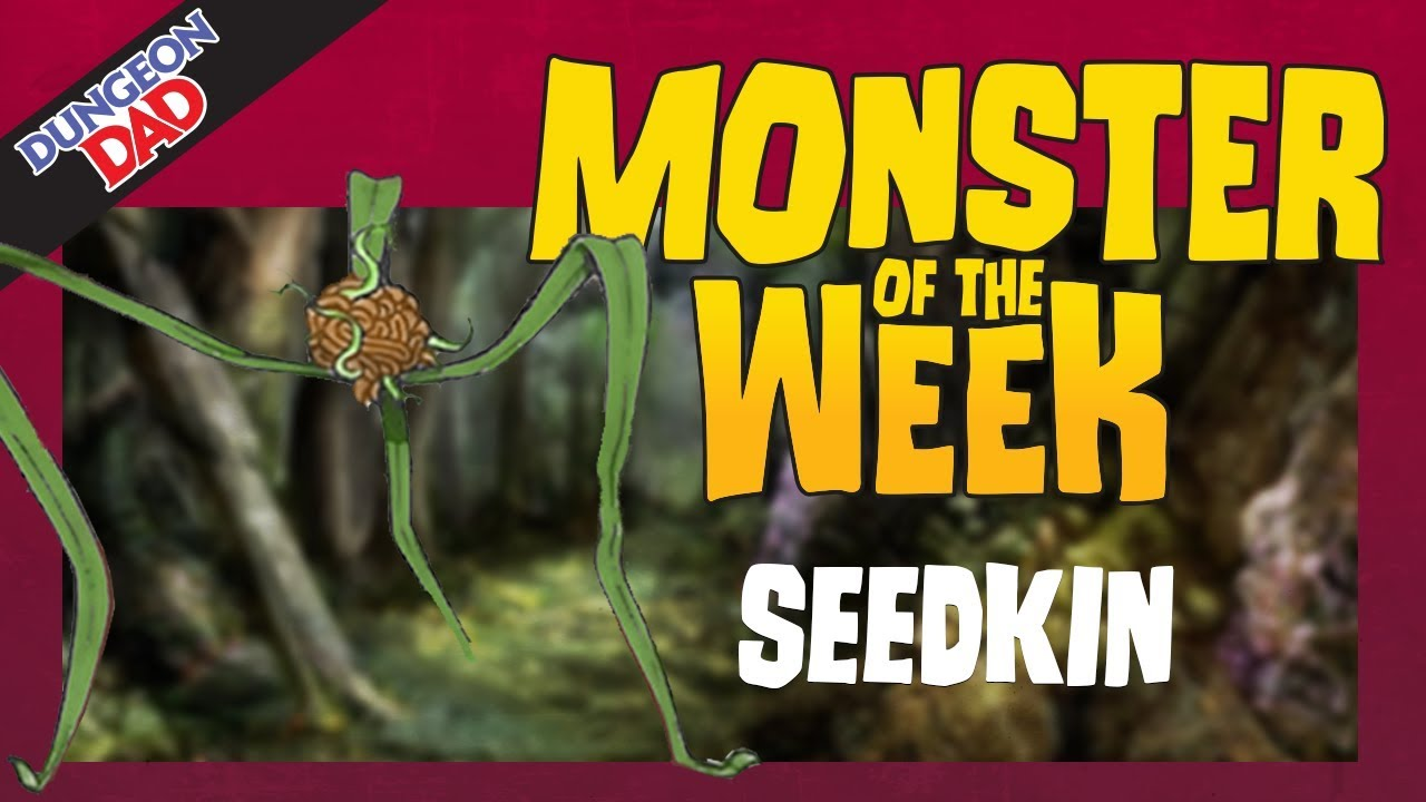 Mind Controlling Plants - Seedkin - Monster of the Week - Dungeons &  Dragons [D&D]