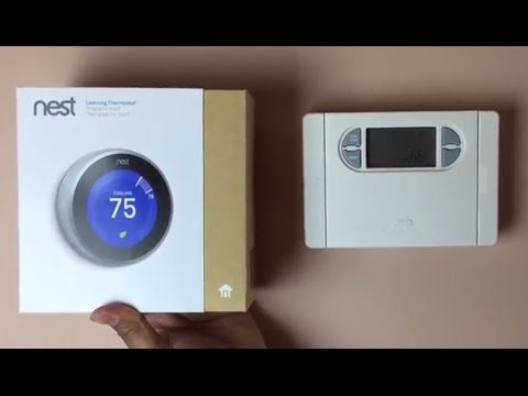 Nest 3rd generation installation - A step by step guide