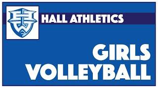 Hall Girls Volleyball Freshman/JV/Varsity vs. Enfield - October 12, 2021