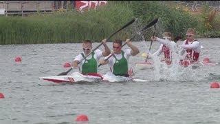 Canoe Sprint Kayak Double (K2) 1000m Men Heats Full Replay -- London 2012 Olympic Games