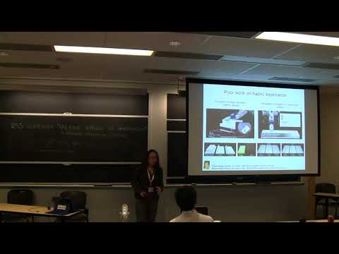 Veronica Santos: Experiential approaches to artificial haptic perception and decision-making
