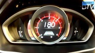 2013 Volvo V40 D2 Summum - Pure Accelerations (1080p FULL HD)