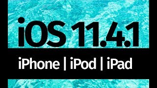 How to Update to iOS 11.4.1 - iPhone iPad iPod