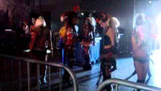 Pirate Girls warming up to Mystical Influence @ Nocturnal Wonderland 2010