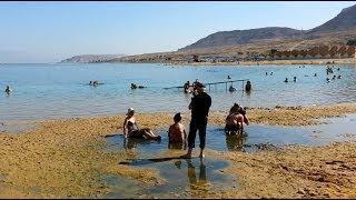 Dead Sea, Israel, Ein Bokek beach
