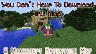 Well That Was Random // You Don't Have To Download This Map // A Minecraft Adventure Map