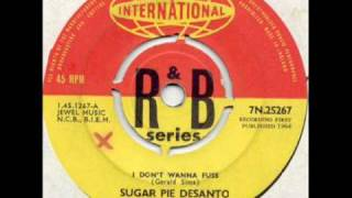"Sugar pie de Santo ""I don"