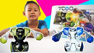 Mainan Robot Keren Bisa Bertarung | YCOO Robo Kombat Silverlit