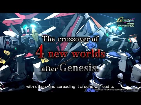 SD Gundam G Generation Cross Rays - 2nd Trailer (English)