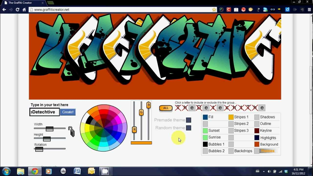 Graffiti creator how to save - The Graffiti Creator Tutorial