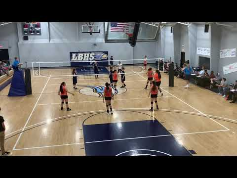 Lancaster Baptist School vs Palmdale Aerospace Set 1
