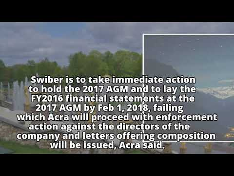 Swiber directors to face enforcement action if Feb 1 AGM deadline not met: Acra
