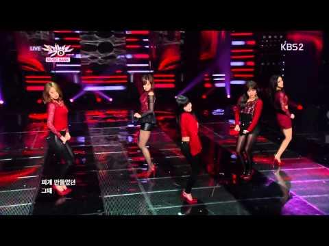 T-ara - Number 9 - 131025 KBS Music Bank