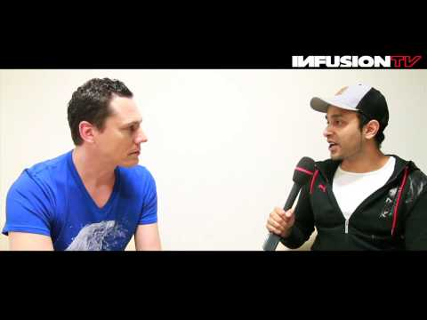 Tiesto Interview @ Sunburn Dubai 2013 - Infusion TV Sessions