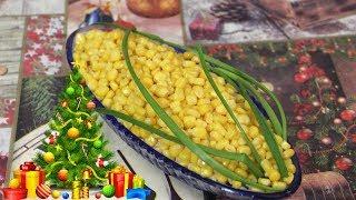 Необычный Пикантный Салат на Новый Год. Салат Кукуруза.