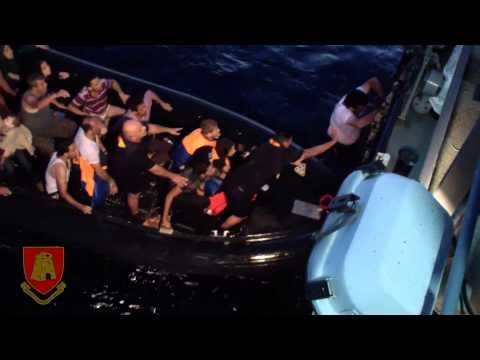 AFM Release - Search & Rescue 118NM Off Malta 11th October 2013