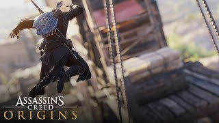 Assassin's Creed Origins - Parkour & Free Running Compilation